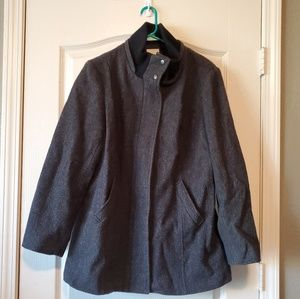 Fully Lined 3/4 length Wool Coat